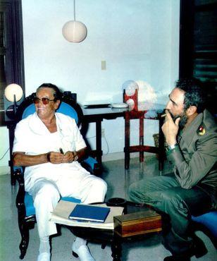 Броз Тито с Фиделем Кастро