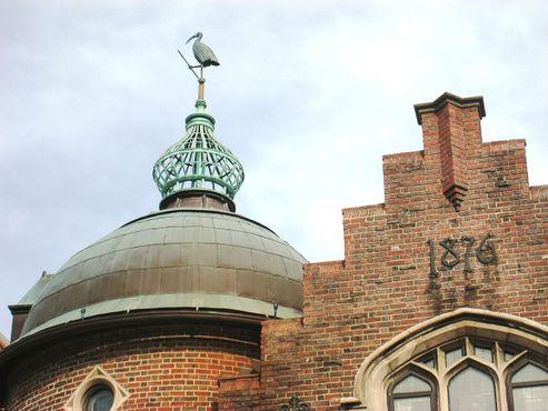 Купол здания «Гарвардского пасквилянта»