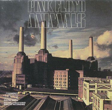Знаменитая обложка альбома Pink Floyd с изображением станции