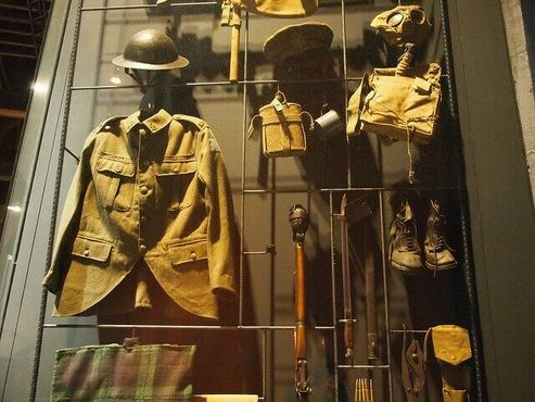 Снаряжение британских окопных солдат
