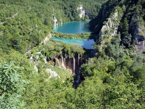 Низшая точка, в которой Плитвицкие озёра соединяются с рекой Корана