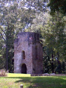 Эта башня - всё, что осталось от конгрегационалистской церкви