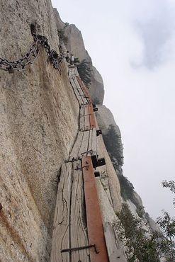 Один из участков опасного маршрута
