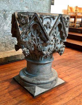 Крестильная купель XIII века