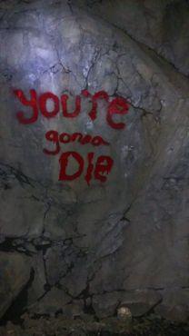 Граффити в клинтонском железнодорожном туннеле