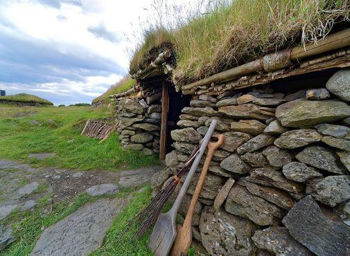 Реконструированный каменный дом