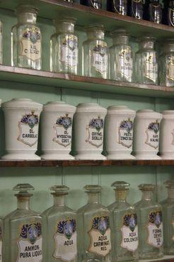 Медицинские тары в Музее истории медицины Земмельвейса