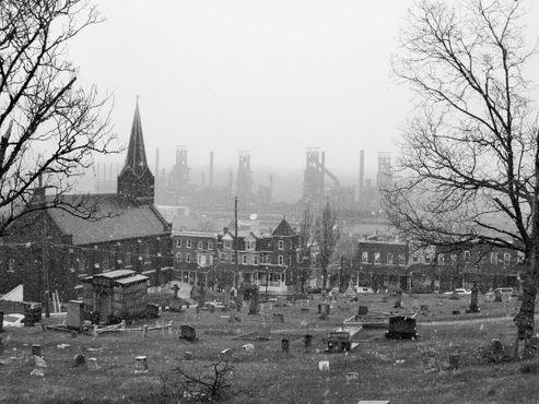 Вид с кладбища Святого Михаила