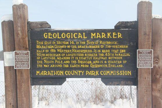 Геологический (должен быть географический) знак