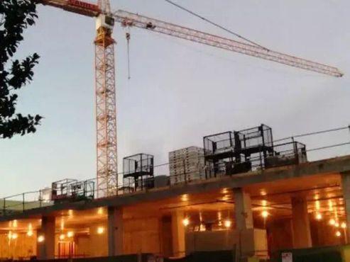 Строительство в квартале Билл-Сорро, декабрь 2016 года