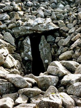 Вход в склеп-проход в Зеефине