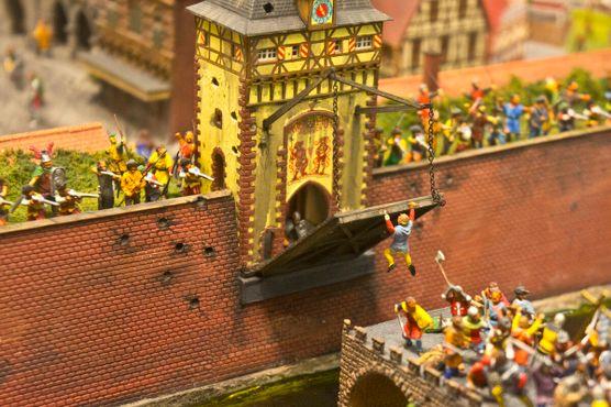 Камелот — новейший экспонат «Мира в миниатюре»