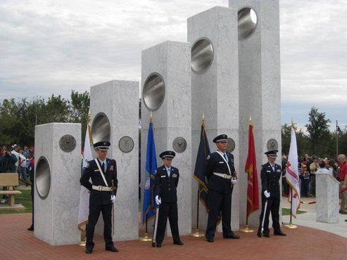 Памятник ветеранам в Антеме