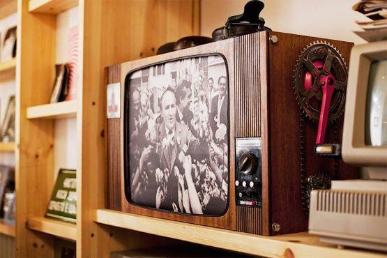 Декоративный телевизор в «Ракете»