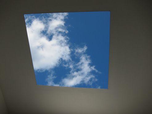 Инсталляция Джеймса Таррелла «Tending, (Blue)» в Центре скульптуры Нэшера