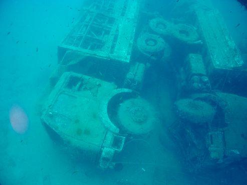 Погружение на затонувшее судно «Зенобия»