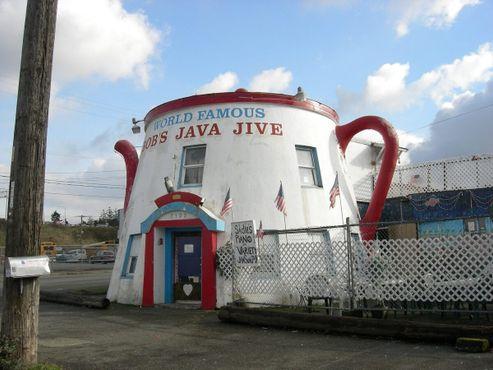 Сначала это был ресторан «Кофейник»