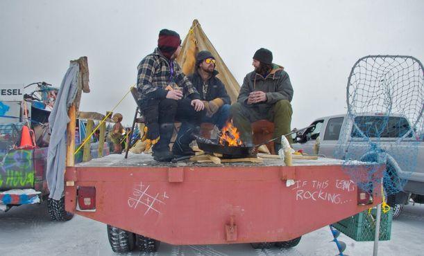 Конкурс на самый необычный грузовик. Фестиваль «Long John Jamboree», 24 марта 2012 года