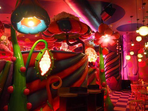 Зал «Грибное диско»