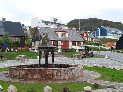 Старейший фонтан в Гренландии