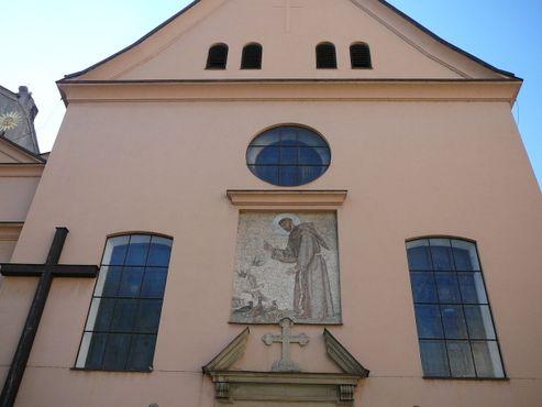 Внешний вид церкви капуцинов