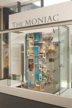 MONIAC, выставленный вРезервном банке Новой Зеландии