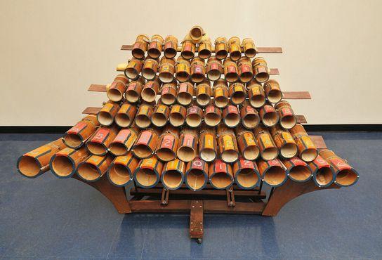 «Бу I» - большая бамбуковая маримба, построенная в 1955 году