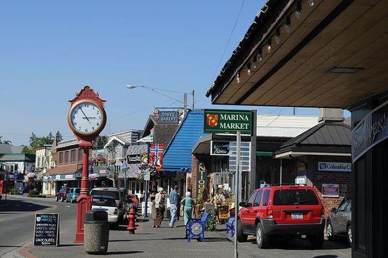 Главная улица Поулсбо, штат Вашингтон