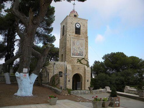 Греческий православный монастырь на горе Фавор