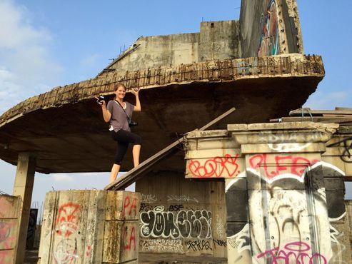 Любители приключений могут подняться на самый верх крыши