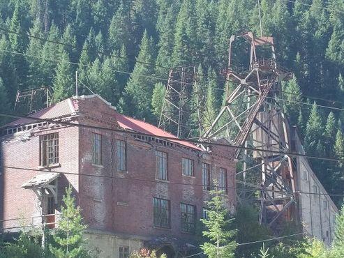 Руины шахты Хэкла