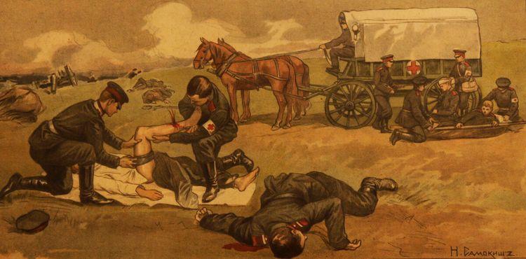 Оказание неотложной медицинской помощи на поле боя