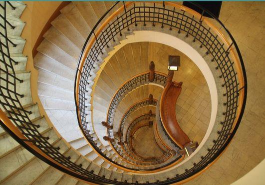 Фантастическая спиральная лестница