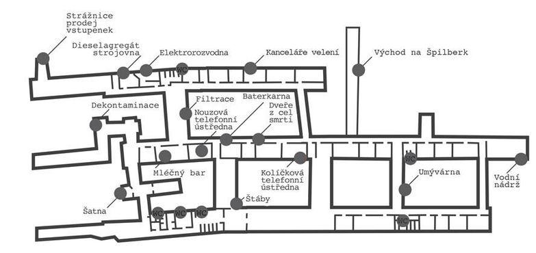 Карта ядерного бомбоубежища 10-Z
