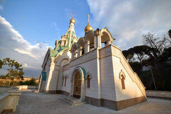 Русский православный храм Святой Екатерины