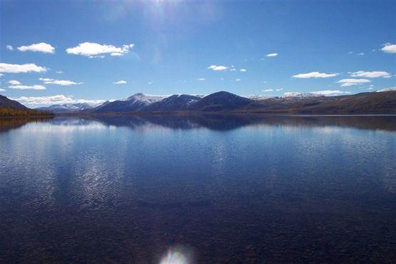 Озеро Лабынкыр, предполагаемый дом свирепого монстра