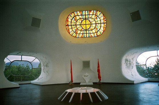 Интерьер здания мемориального комплекса