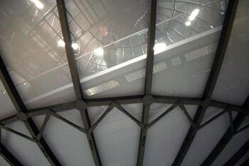 АллоСфера, вид с первого этажа