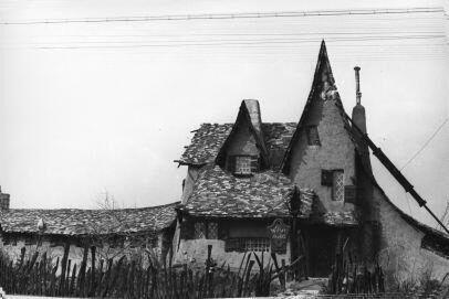 Фотография дома в Калвер-Сити, 1920-е годы