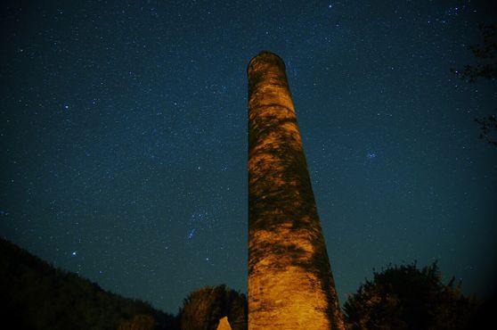 Круглая башня в Глендалохе