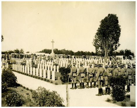 Кладбище в 1927 году