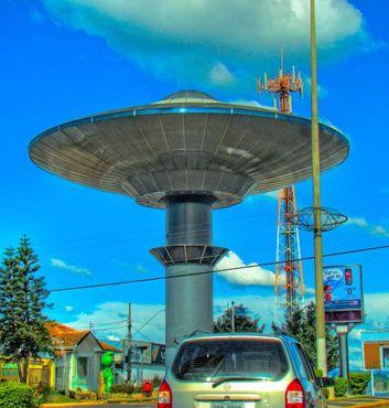 НЛО в городе Варжинья