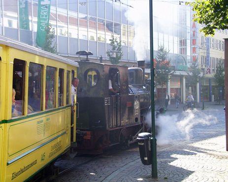 «Огненный Элиас» совершает ежегодную поездку по центру Дармштадта