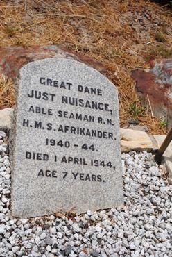 Надгробный камень на могиле Помехи