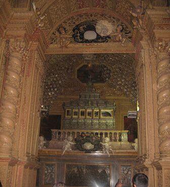 Реликварий святого Франциска Ксавьера