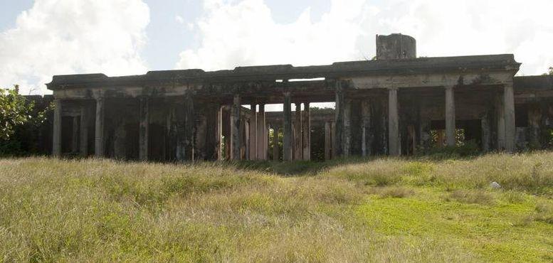Экстерьер руин