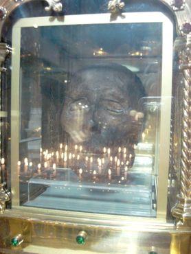 Голова святого Оливера