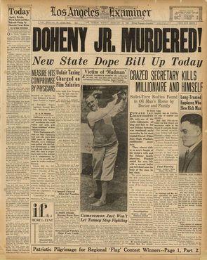 Новости об убийстве Доэни