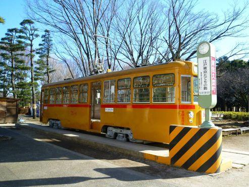 Винтажный трамвай