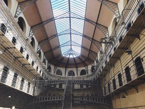 Секция тюрьмы, построенная в Викторианскую эпоху